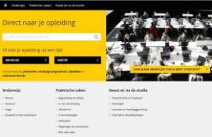 Studentenwebsite Universiteit Utrecht